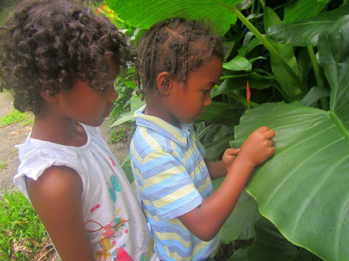 children in nature onelovelivity